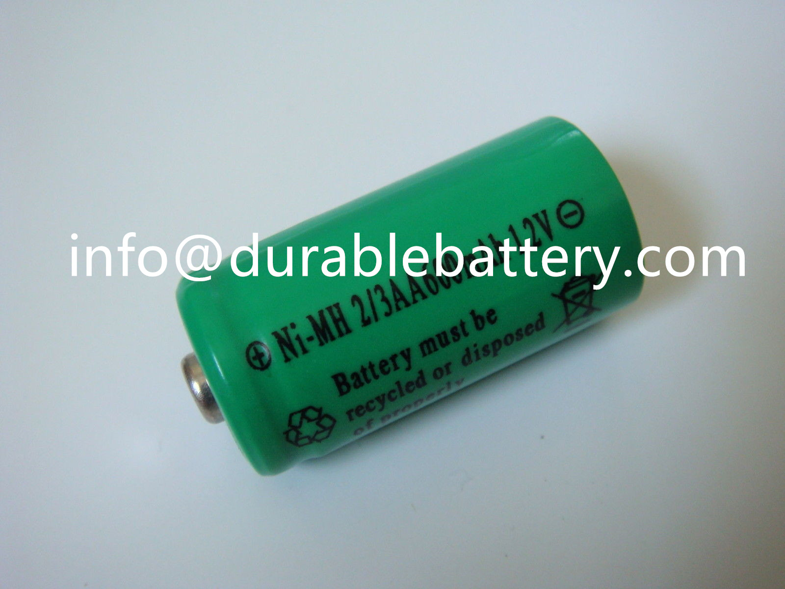 rechargeable battery for toys nimh battery 1.2v 2/3aa 600mah used for solar light