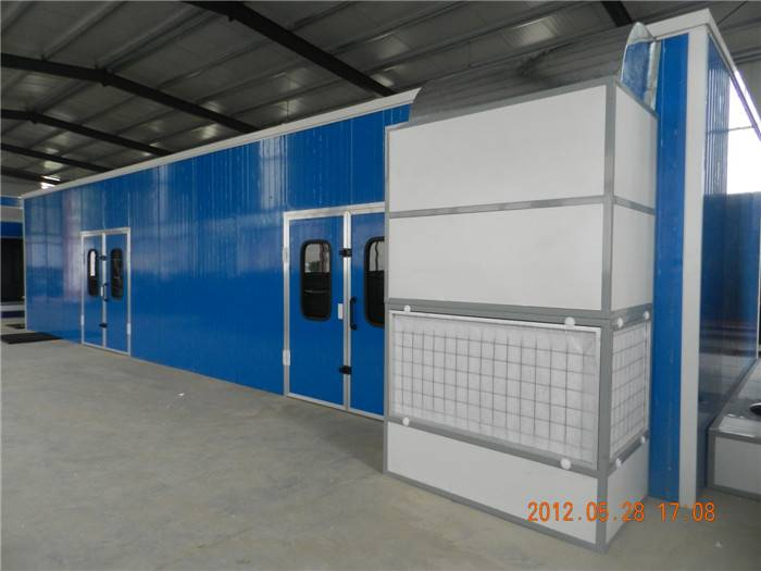 D Oriental DOT F2 Industrial Water Curtain Furniture Paint Booth/Water Curtain Spray Booth