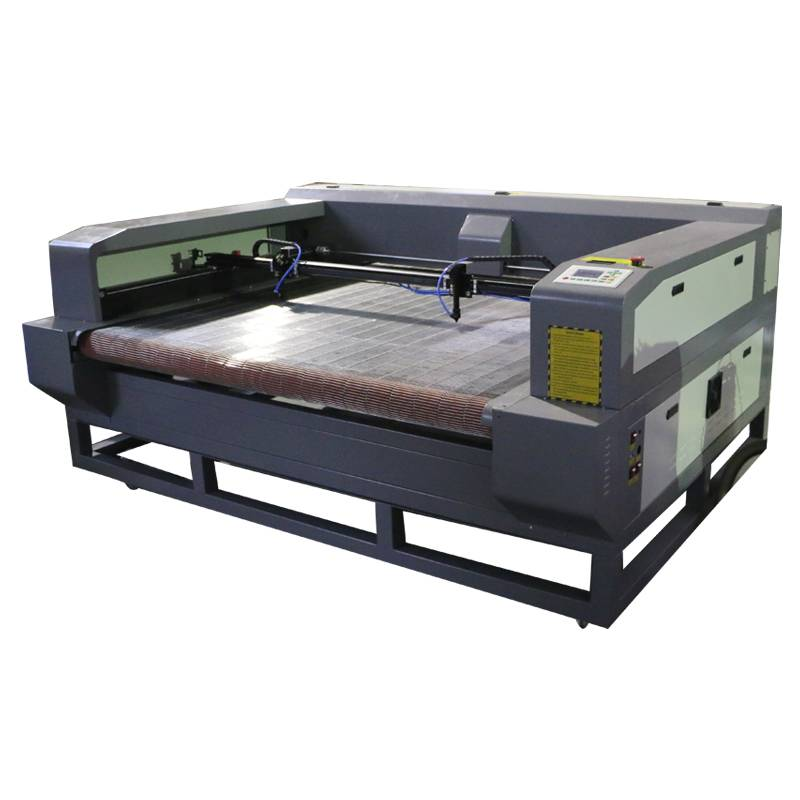 1600*1000mm auto feeding fabric leather laser cutting machine, cheap price for sale