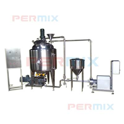 Batch Vacuum Emulsifying System for Sauces