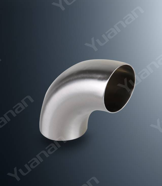 Sanitary stainless steel 90D Bend