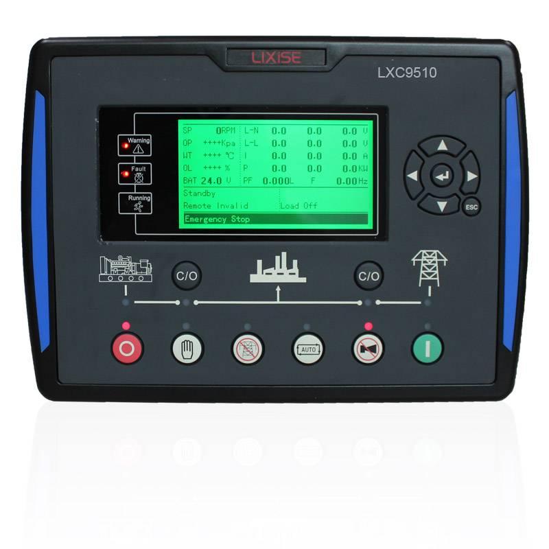 LXC9510 generators parallel controller
