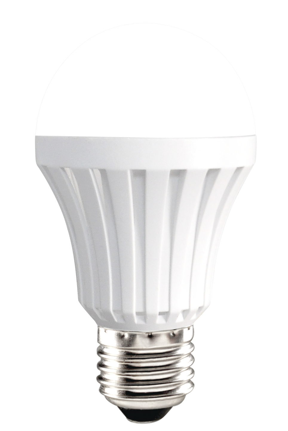 LED BULD plastic body Dien Quang A80 9W warmwhite frosted cover