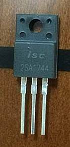 ISC sillicon PNP power transistor 2SA1837