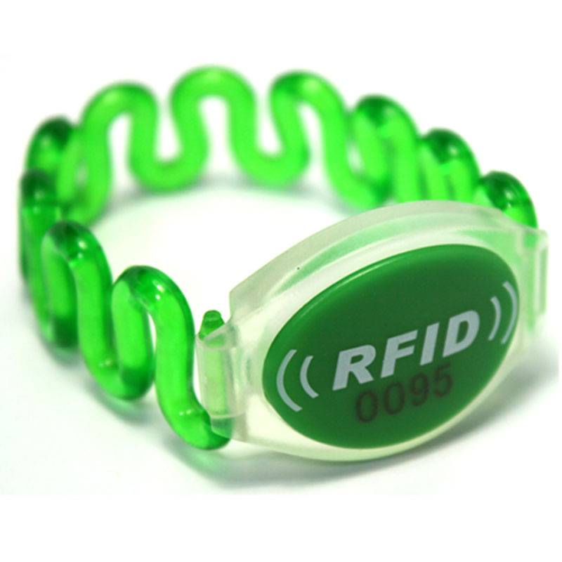 RFID Silicone Wristband for Amusement Park Management