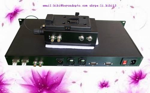 SDI/Intercome/Remote/Ethernet/Tally/Genlock over EFP fiber converter,camera optic adaptor and optic