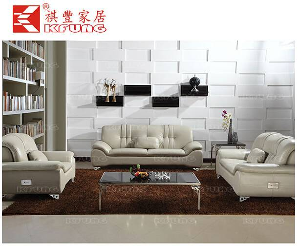 Popular design Sectional Genuine Leather Sofa Lounge SF-174