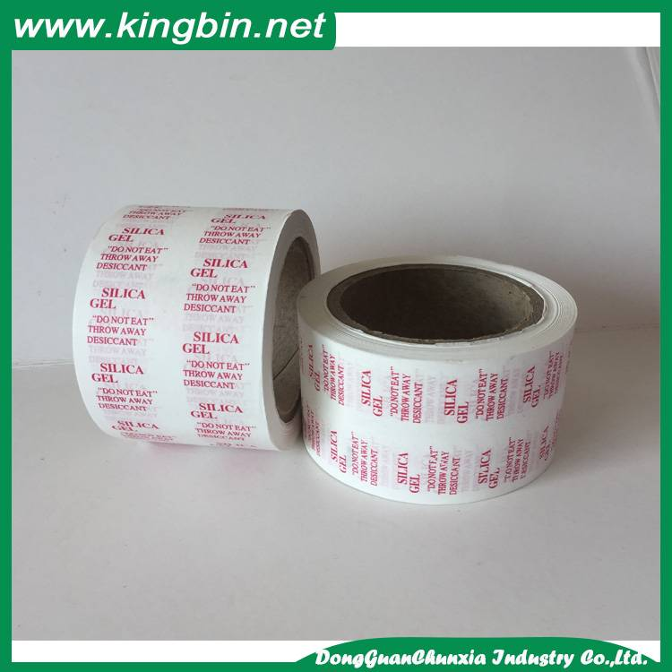 desiccant packing paper in roll