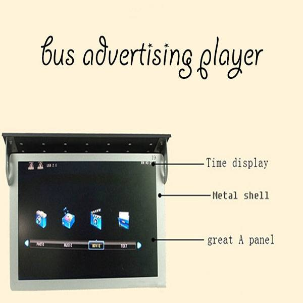 "15 Inch LCD Bus Advertising Screen Display (15"", 17"", 19"",22"")"