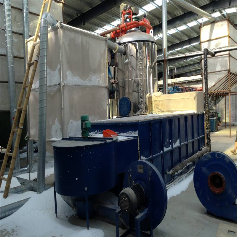 (Expandable polystyrene)EPS Fluidized drying bed