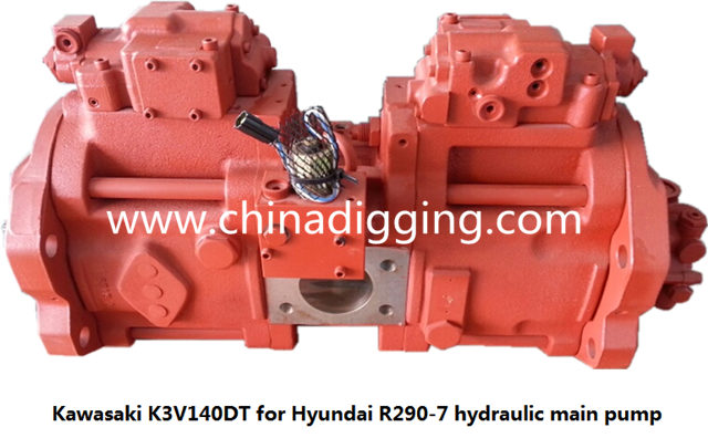 Hyundai R290-7 excavator hydraulic pump main pump assy