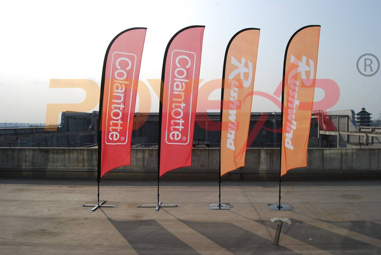 outdoor advertising banners,custom feather flag,flutter flag