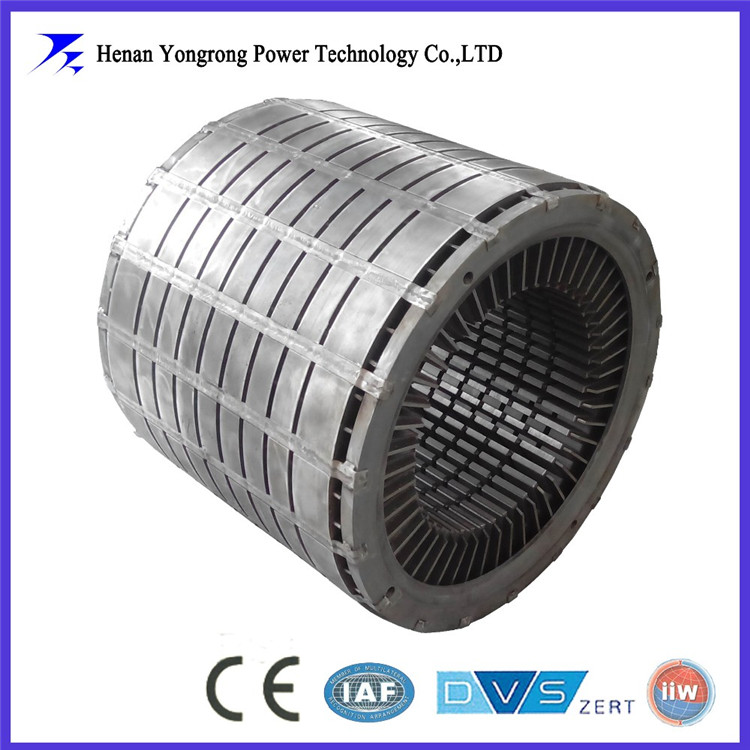 Silicon steel core for stator and rotor
