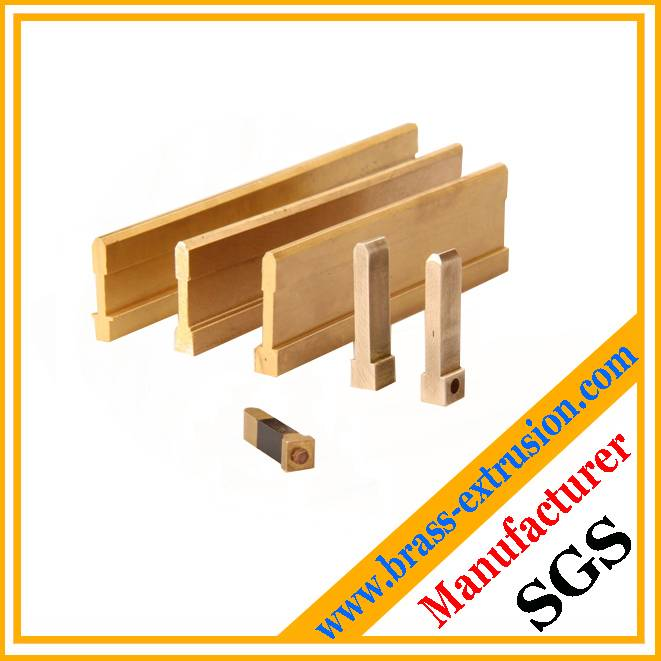 brass extrusion sections for electrical components