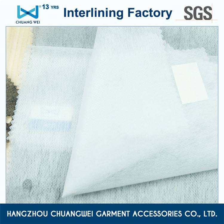 Good reputation high quality microdot fusible nonwoven interlining
