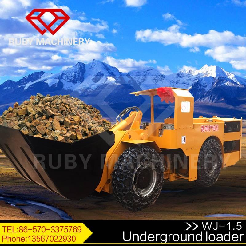 0.75CBM diesel Scooptram Underground mining Loader LHDs Mining Machinery