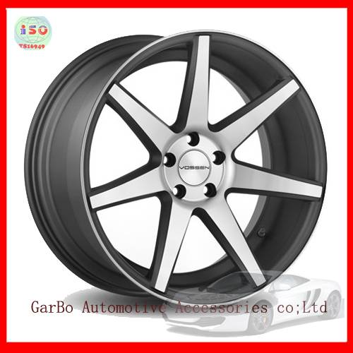 vossen cv7 alloy wheel rim of 17inch 18inch  garbo wheels