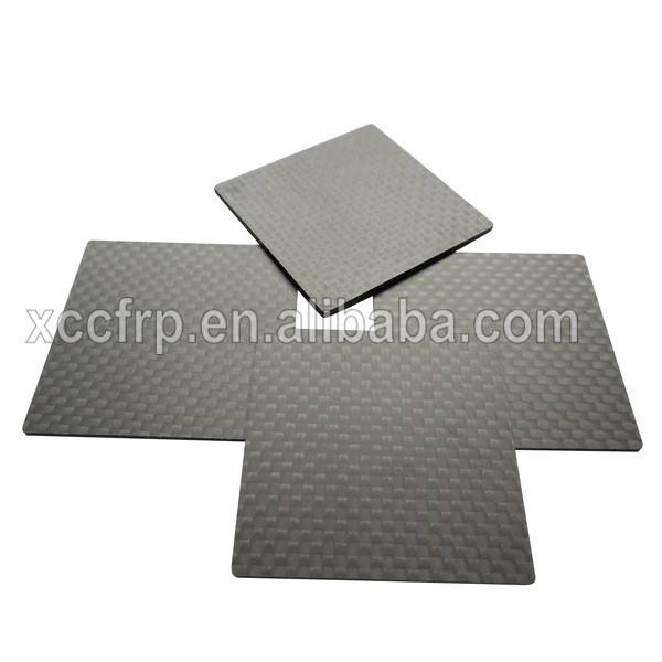 Best quality 3K matte finish carbon fiber board 2mm 3mm 4mm 5mm thickness