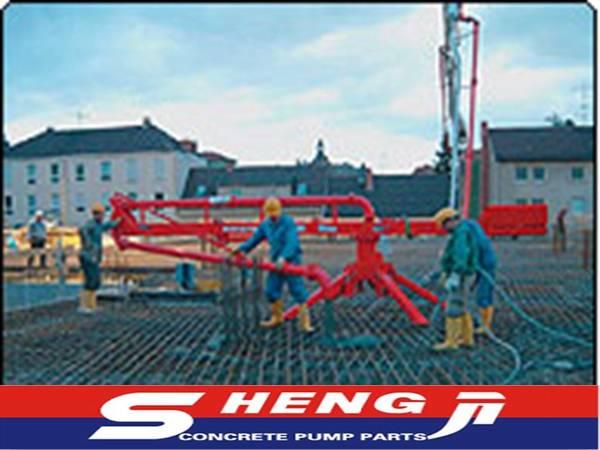 high quality China Yanshan 39m concrete placing boom
