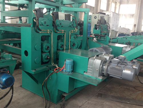 Automatic steel bar straightening machine China
