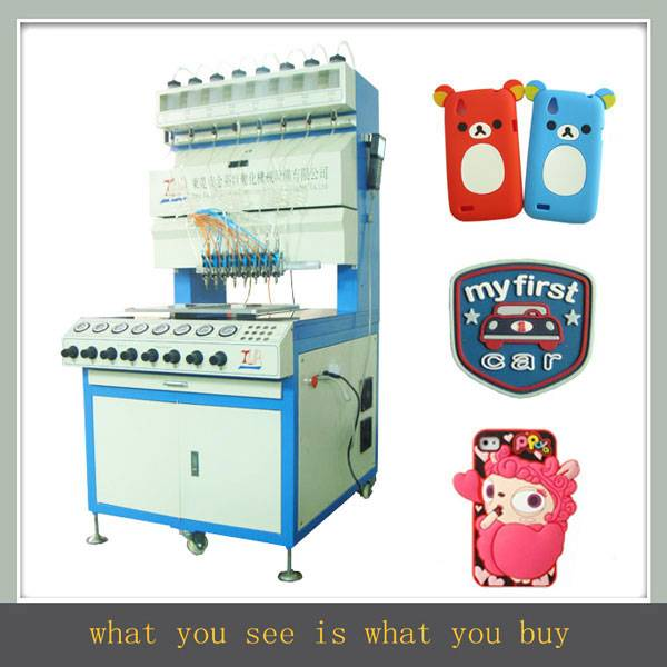 JY-B01 full-automatic 8 colors silicone bracelet making machine