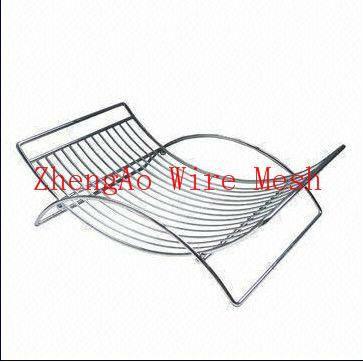 metal basket in the kitchen