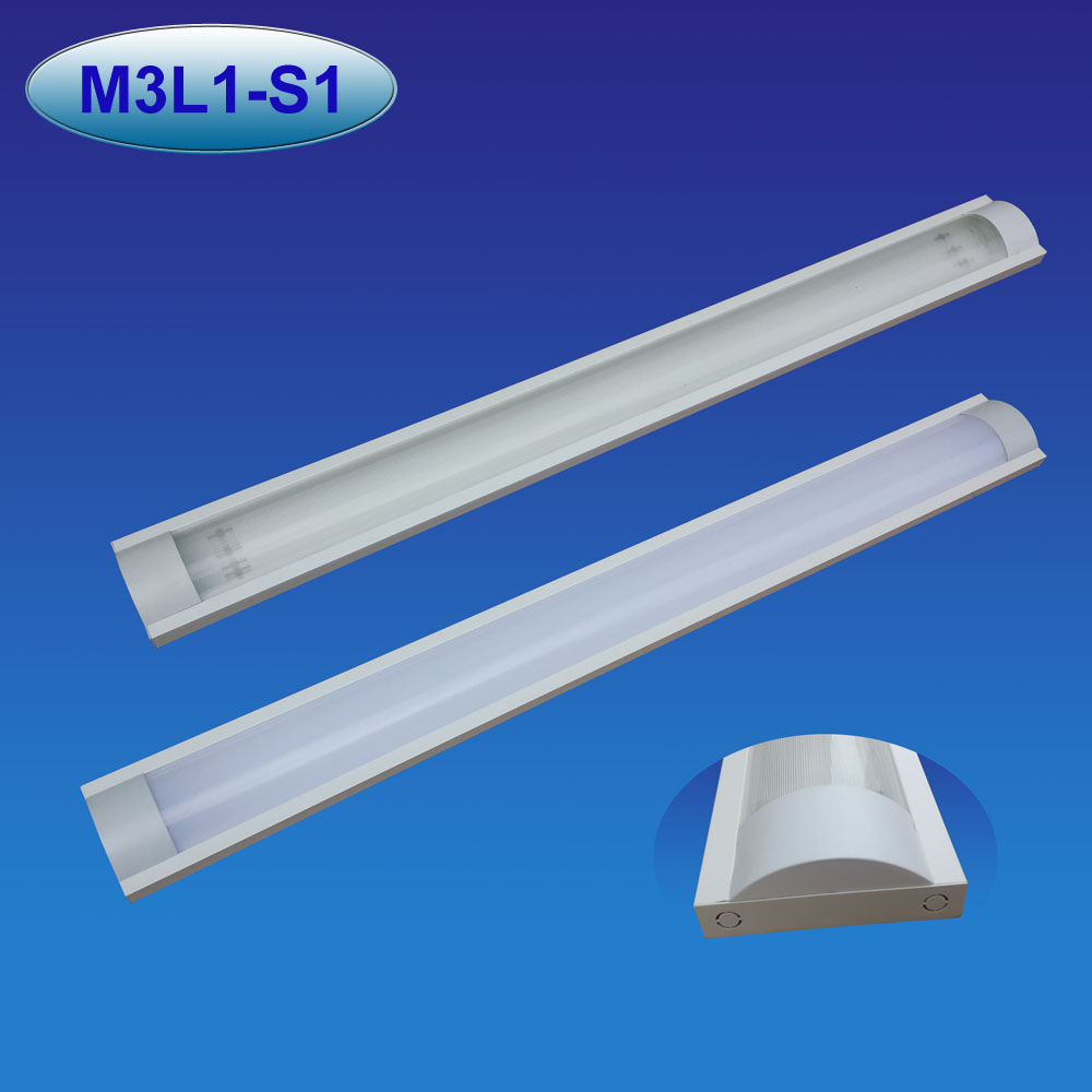 Superthin dust proof LED lighting fixture LED tube light fixture
