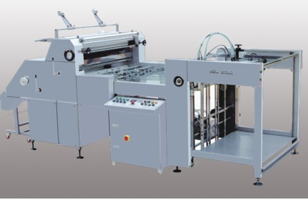 GWFM-1100  Automatic water-base glue film laminating machine With CE Standard