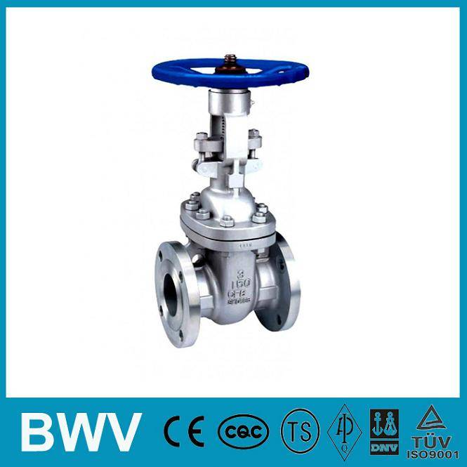 150LB Flanged Stainless Steel Gate Valve