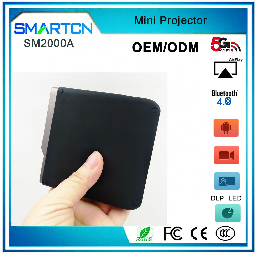 SM2000A Mini Pico Projector Proyector android projector