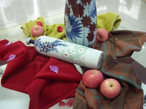 woollen fabric /rabbit hair fabric /bamboo fiber fabric / rabbit hair fabric