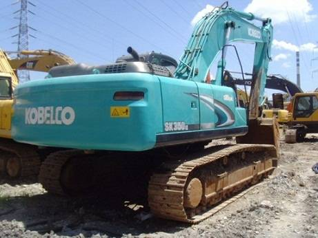 Used Kobelco SK350LC Excavator