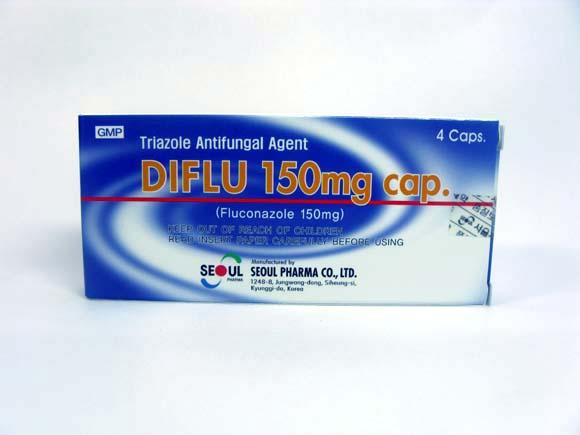 Medicine (DIFLU 150mg cap)