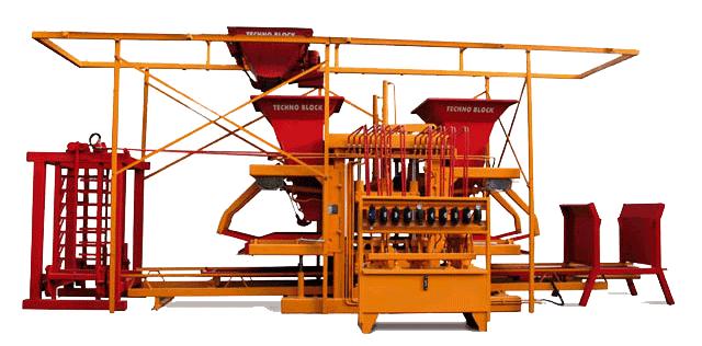 FIXED BLOCK MAKING MACHINE ON WOOD PALLETS MODEL: M53