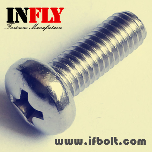 Phillips Pan Head Machine Screw Bolt-Infly Fasteners Manufacturers