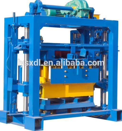 QT40-2 hollow brick making machine India price