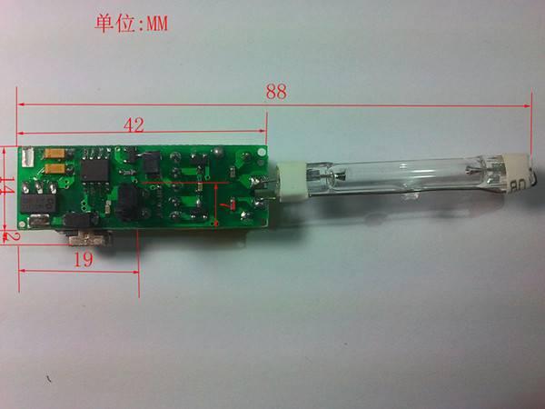 UV toothbrush sanitizer circuit board