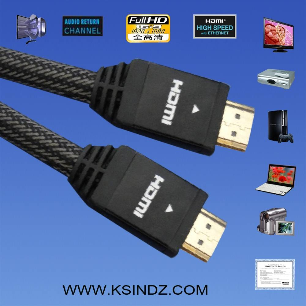 HDMI cable 1.4 with good quality and high speed