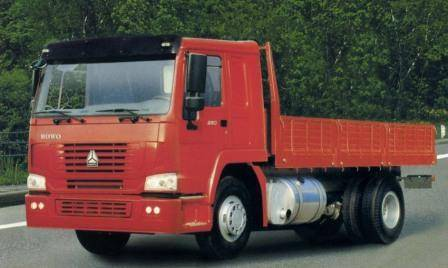 HOWO 4X2 CARGO TRUCK  ZZ1167M4611W
