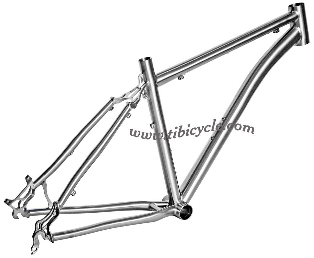 MTB Titanium Bicycle Frame HLM005