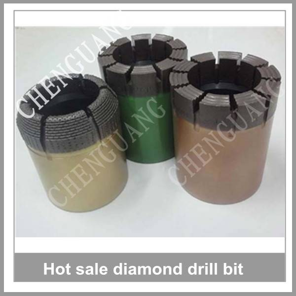 Diamond core drill bit, hard rock drill bits, diamond drill bits
