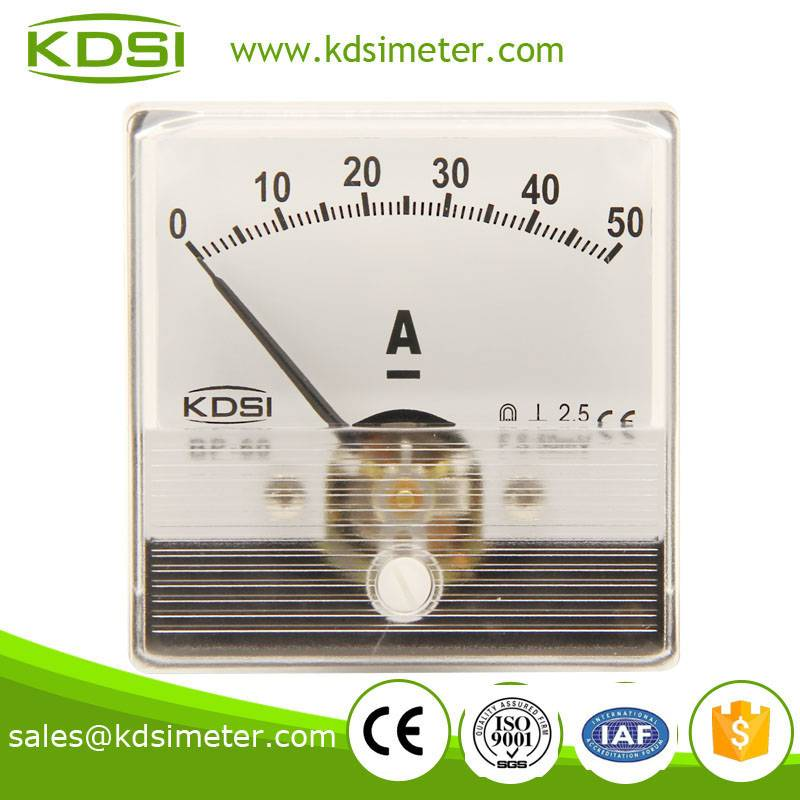 Special meter for welding machine BP-60N DC50mV 50A panel ampere meter