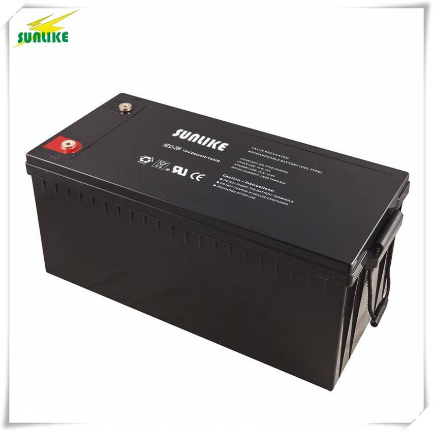 12V 200ah Gel Battery Solar Power Battery with 15years Life