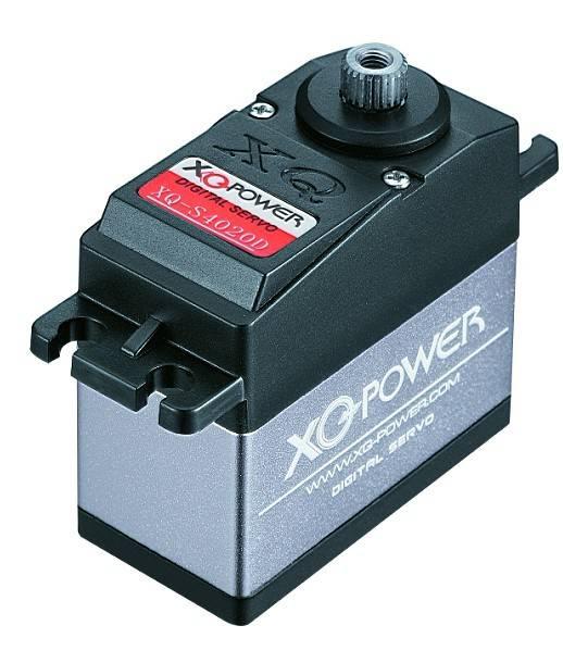 Servo  XQ-POWER XQ-S4020D 6V 20kg-cm Digital Servo with Titanium Gear;Waterproof; Aluminium middle ;