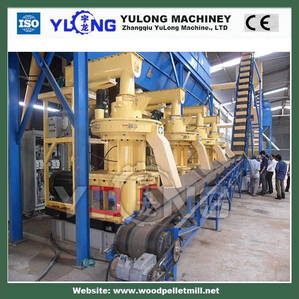2-3t/h wood pellet production line/palm pellet line