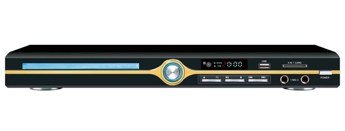 new DVD player
