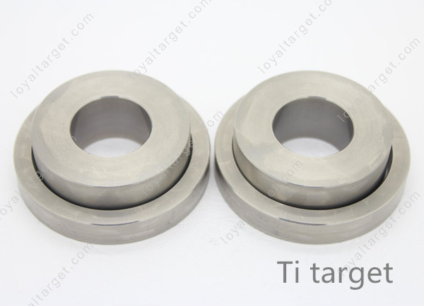 Factory price pure titanium sputtering target 99.999%