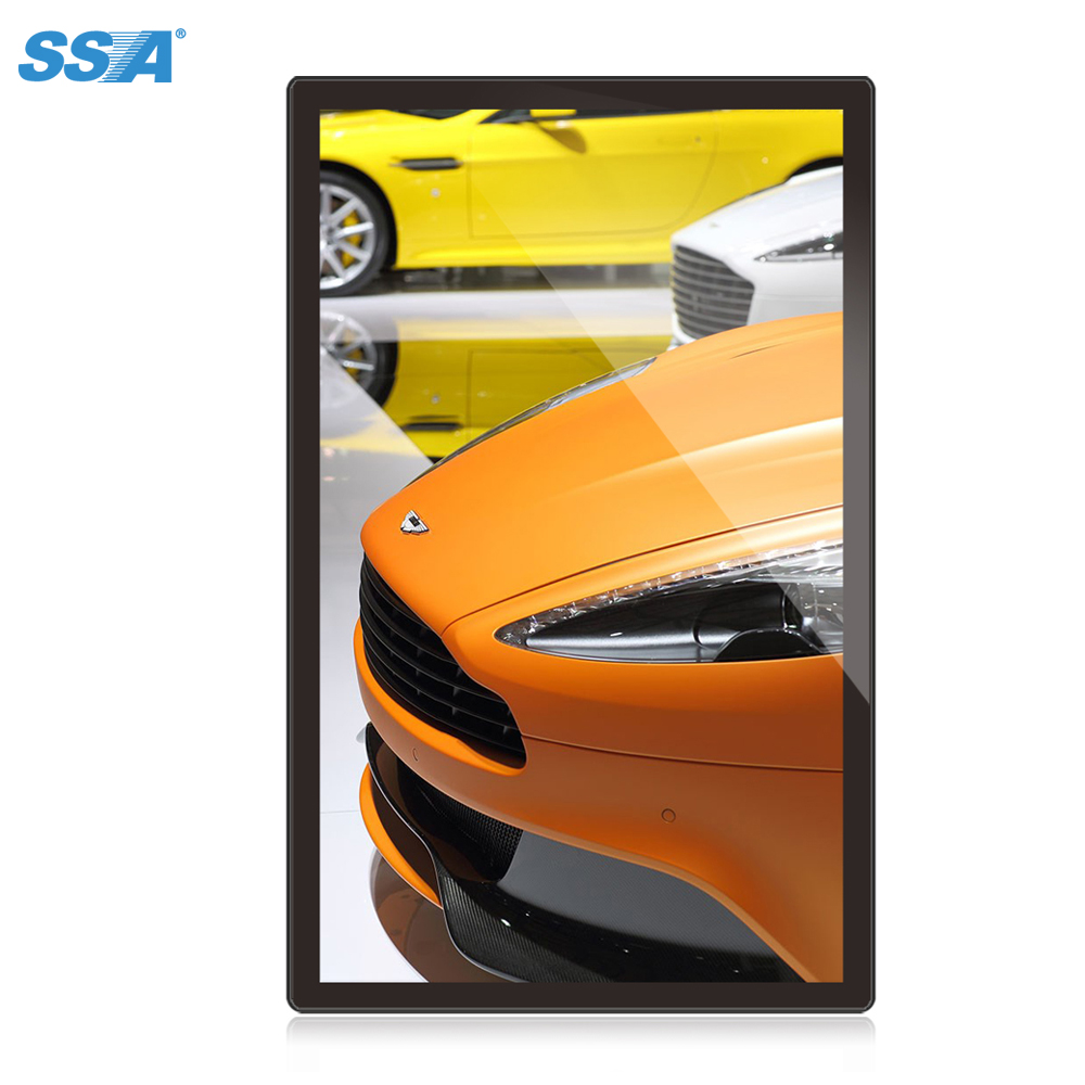 Cheap universal 18.5 inch Large size digital photo frame full sexy hd video download ads LCD
