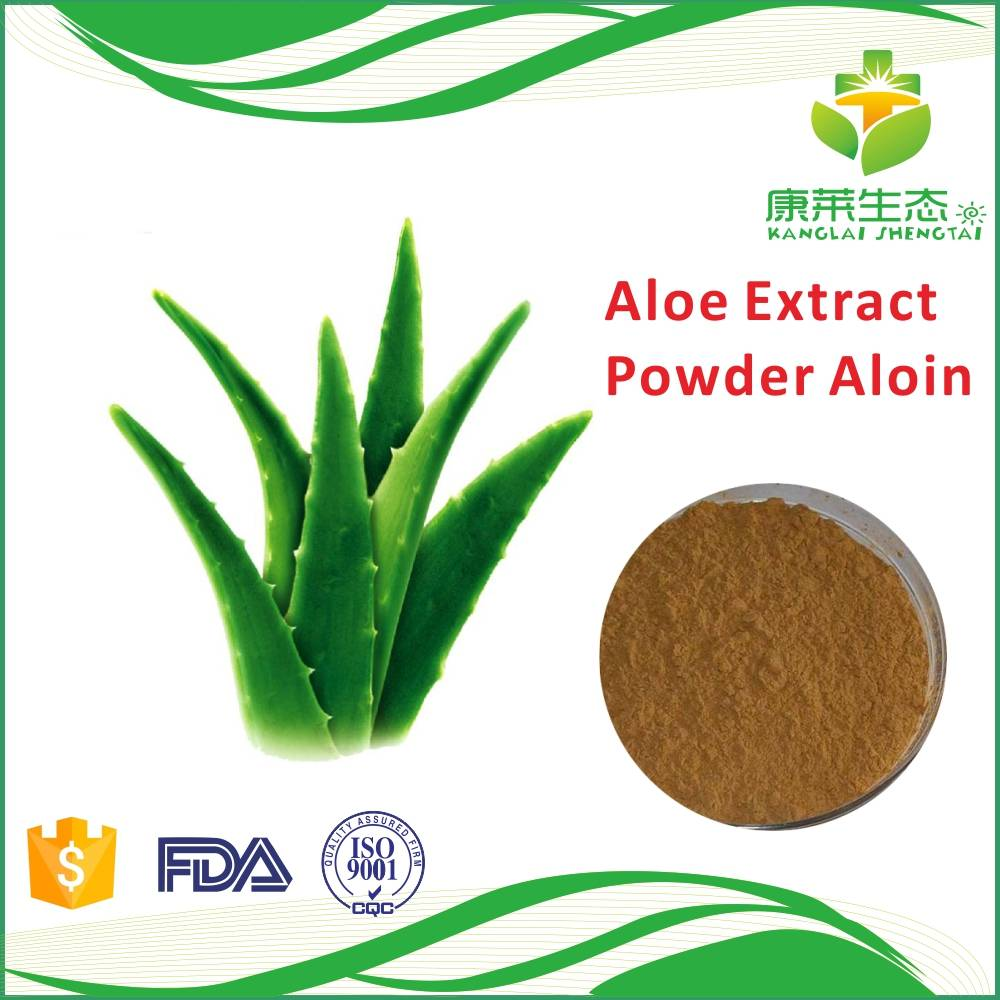 High Quality Aloe Vera Extract Powder Aloin 20% HPLC