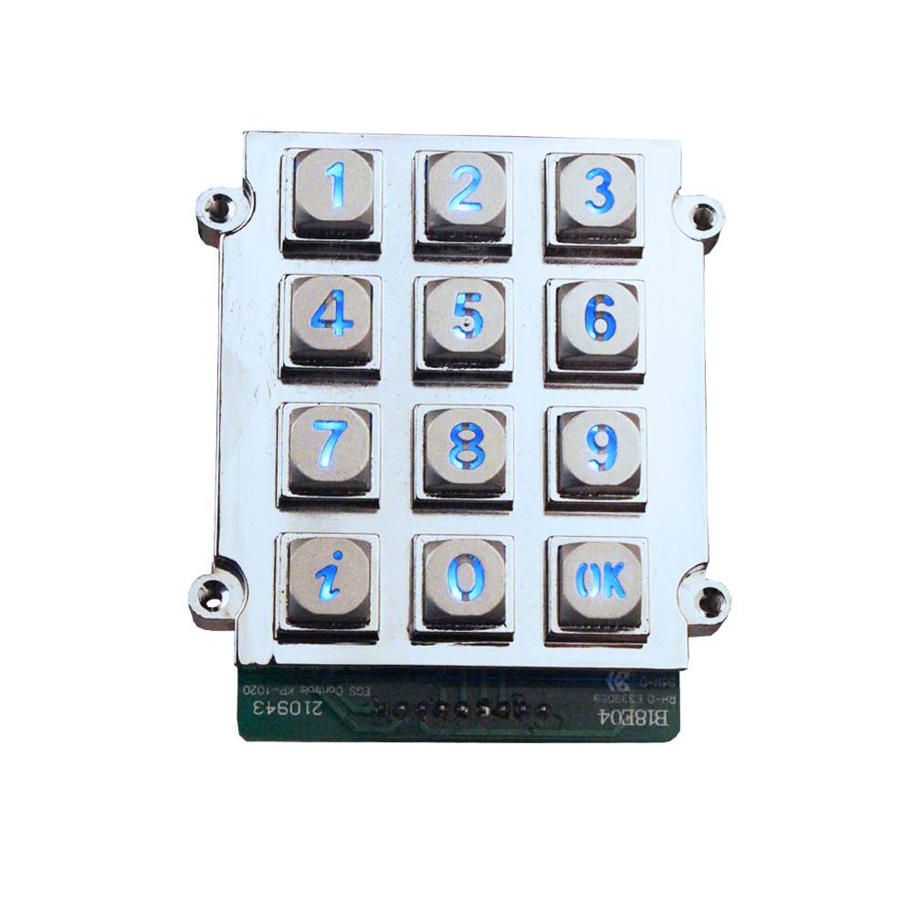 High Quality mini access control keypad new matrix keypad backlit rugged keypad with great price